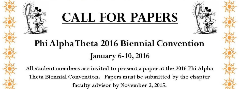 Call for Papers-website