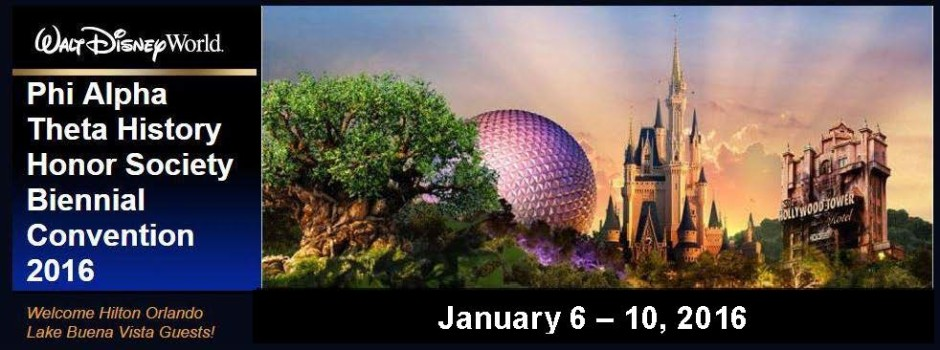 WDW 2016 Convention Banner